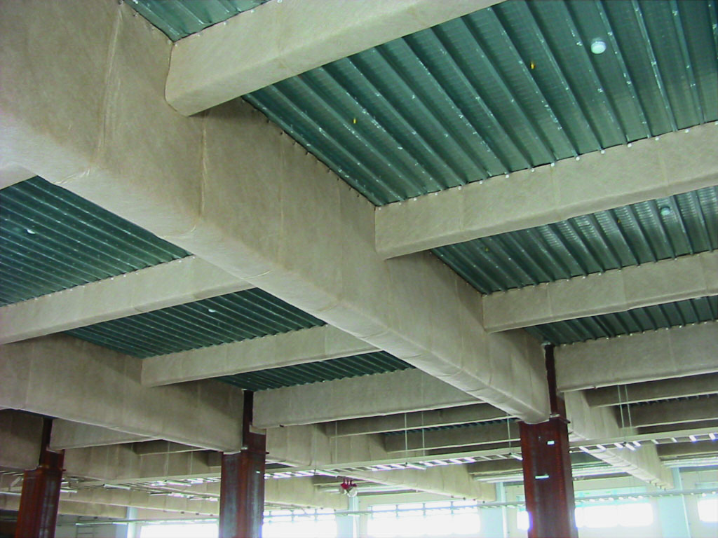 Wrap-type Fireproofing Materials