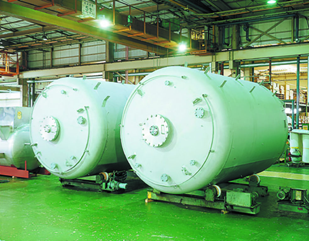 Fluoropolymer Chemical Tank Lining